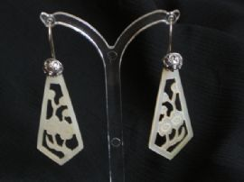 1920's Mother-of-Pearl Earrings SOLD